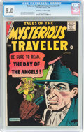 Silver Age (1956-1969):Horror, Tales of the Mysterious Traveler #8 (Charlton, 1958) CGC VF 8.0Off-white to white pages....