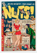 Golden Age (1938-1955):Humor, Nuts! #3 (Premiere Comics Group, 1954) Condition: NM-....