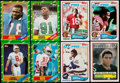 Football Cards:Sets, 1982, 1983 and 1986 Topps Football Complete Set Trio (3)....