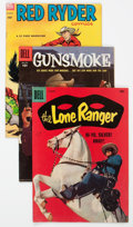 Golden Age (1938-1955):Western, Dell Golden Age Westerns Short Box Group (Dell, 1950s) Condition:Average FN....