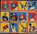 Football Collectibles:Uniforms, 1949 Leaf Football Near Set (48/49). ...