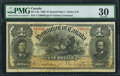 Canadian Currency: , DC-13a $1 1898.. ...