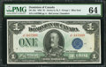 Canadian Currency: , DC-25c $1 1923.. ...