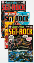 Bronze Age (1970-1979):War, Our Army at War Group of 65 (DC, 1969-80) Condition: Average FN.... (Total: 65 Comic Books)