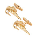 Estate Jewelry:Cufflinks, Gold Cuff Links. . ...