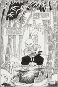 Original Comic Art:Splash Pages, Stan Sakai Usagi Yojimbo #2 Unpublished Splash Page 11Original Art (Fantagraphics, 1987)....
