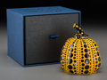 Post-War & Contemporary:Sculpture, Yayoi Kusama (Japanese, b. 1929). Pumpkin, 2013. Paintedcast resin. 4 x 3-1/4 x 3-1/4 inches (10.2 x 8.3 x 8.3 cm). Sta...