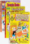 Bronze Age (1970-1979):Cartoon Character, Richie Rich Inventions File Copies Box Lot (Harvey, 1977-82)Condition: Average NM-....