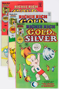 Bronze Age (1970-1979):Cartoon Character, Richie Rich Gold and Silver File Copies Box Lot (Harvey, 1976-82) Condition: Average NM-....