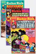 Bronze Age (1970-1979):Cartoon Character, Richie Rich Vault of Mystery File Copies Box Lot (Harvey, 1975-82)Condition: Average NM-....