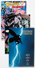 Modern Age (1980-Present):Superhero, Batman Related Group of 4 (DC, 1990s) Condition: Average NM-....(Total: 4 Comic Books)