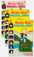 Bronze Age (1970-1979):Humor, Richie Rich Dollars and Cents File Copies Box Lot (Harvey, 1969-82)Condition: Average NM-....
