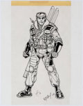 Original Comic Art:Miscellaneous, G.I. Joe Character Model Sheet Original Art Group of 2 (2003)....(Total: 2 Original Art)