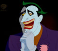 Animation Art:Production Cel, Batman: The Animated Series Joker Production Cel (WarnerBrothers, 1993)....