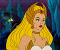 Animation Art:Production Cel, She-Ra: Princess of Power Production Cel (Filmation, 1986)....