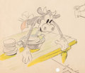 Animation Art:Color Model, Camping Out Clarabelle Cow Color Model Animation Drawing(Walt Disney, 1934)....
