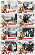 """Movie Posters:Crime, Dillinger & Others Lot (American International, 1973). Lobby Card Sets of 8 (4 Sets) (11"""" X 14""""). Crime.. ... (Total: 32 Items)"""