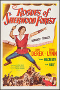"Movie Posters:Adventure, Rogues of Sherwood Forest & Others Lot (Columbia, R-1956). OneSheets (2) (27"" X 41""), Title Lobby Card, & Lobby Cards (2)(... (Total: 5 Items)"