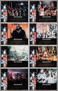 """Movie Posters:Fantasy, Excalibur (Warner Brothers, 1981). Lobby Card Set of 8 (11"""" X 14"""").Fantasy.. ... (Total: 8 Items)"""