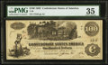 Confederate Notes:1862 Issues, T39 $100 1862 PF-4 Cr. 291....