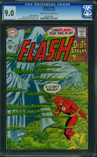 The Flash #176 (DC, 1968) CGC VF/NM 9.0 Cream to off-white pages