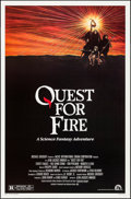 "Movie Posters:Adventure, Quest for Fire (20th Century Fox, 1982). One Sheets (2) Identical(27"" X 41"") & Horizontal Posters (8) Identical (25"" X 40"")...(Total: 10 Items)"