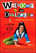 """Movie Posters:Comedy, Welcome to the Dollhouse & Other Lot (Sony, 1996). Autographed One Sheet & One Sheet (27"""" X 40"""") SS. Comedy.. ... (Total: 2 Items)"""