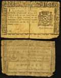 Colonial Notes:New York, New York March 5, 1776.. ... (Total: 2 notes)