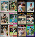 Baseball Cards:Lots, 1968-75 Topps Baseball Collection (650) With 1975 George BrettRookie....