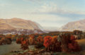 Paintings, Alexander Lawrie (American, 1828-1917). View of West Point, 1869. Oil on canvas. 36-1/4 x 55-1/2 inches (92.1 x 141.0 cm...