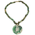 Estate Jewelry:Necklaces, Jadeite Jade, Nephrite Jade, Gold-Filled Necklace. . ...
