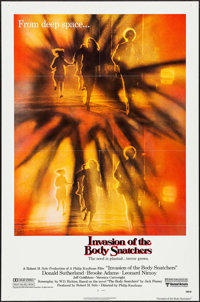 "Invasion of the Body Snatchers (United Artists, 1978). One Sheets (2) (27"" X 41"") Advance & Regular Styles..."