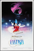 """Movie Posters:Animation, Fantasia & Other Lot (Buena Vista, R-1990). 50th Anniversary One Sheet (27"""" X 41"""") & One Sheet (27"""" X 40""""). Animation.. ... (Total: 2 Items)"""