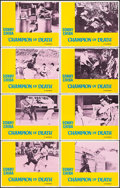 """Movie Posters:Action, Champion of Death & Other Lot (United Artists, 1976). LobbyCard Sets of 8 (2 Sets) (11"""" X 14""""). Action.. ... (Total: 16 Items)"""