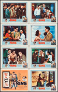 "Movie Posters:Sports, The Ring (United Artists, 1952). Lobby Card Set of 8 (11"" X 14""). Sports.. ... (Total: 8 Items)"