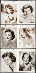 """Movie Posters:Miscellaneous, Ingrid Bergman & Others Lot (Early 1950s). Keybook Portrait Photos (6) (8"""" X 11""""). Miscellaneous.. ... (Total: 5 Items)"""
