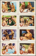 """Movie Posters:Foreign, Temptation & Other Lot (Aidart Pictures, 1961). Lobby Card Sets of 8 (2 Sets) (11"""" X 14""""). Foreign. Alternate Title: Tempt... (Total: 16 Items)"""