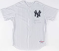 Baseball Collectibles:Uniforms, Alex Rodriguez Signed New York Yankees Jersey. ...