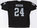 Football Collectibles:Balls, Charles Woodson Signed Oakland Raiders Jersey. ...