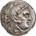 Ancients:Greek, Ancients: MACEDONIAN KINGDOM. Alexander III the Great (336-323 BC).AR tetradrachm (29mm, 16.93 gm, 11h). N...