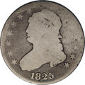 Bust Quarters: , 1825/3 25C B-2, R.2. Good 4 NGC. Terminal Die State. Close overdate; High 25 with small 5. Here is a great collector coin, ...