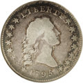 Early Half Dollars: , 1795 50C Small Head. O-128, High R.5. Fine 15 NGC. The arrangementof nine berries on each branch, including two inside and...