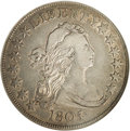 Early Half Dollars: , 1805/4 50C O-102, High R.3. XF40 NGC. The obverse of Overton 102 isthe same as that of Overton 101, but the reverse is dif...