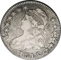 Bust Half Dollars: , 1812/1 50C Large 8 VF30 NGC. O-101a, R.5. One of the more elusiveoverdate varieties in the series of Bust half dollars, th...