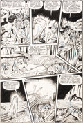 Original Comic Art:Panel Pages, Matt Baker, Jack Kamen, and Jay Disbrow (attributed) Tiger GirlStory Page 7 Original Art (Fiction House, 1948)....