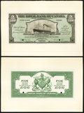 Port of Spain, Trinidad- The Royal Bank of Canada $5/ £1-0-10 January 2, 1920 Ch. # 630-66-02FP/BP Face and Back...