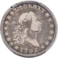 Early Half Dollars, 1795 50C 2 Leaves, O-108a, T-17, R.4, Fine 15 PCGS....