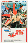 "Movie Posters:Action, Bruce Lee: The Man, The Myth & Other Lot (Cinema SharesInternational, 1977). One Sheets (2) (27"" X 41""). Action.. ...(Total: 2 Items)"