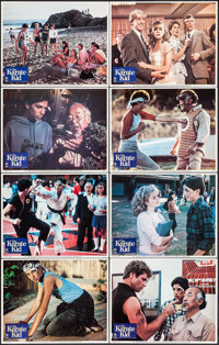 """The Karate Kid (Columbia, 1984). Lobby Card Set of 8 (11"""" X 14""""). Sports. ... (Total: 8 Items)"""