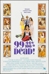 "99 and 44/100% Dead & Others Lot (20th Century Fox, 1974). One Sheets (4) (27"" X 41"") Style B. Crime..."